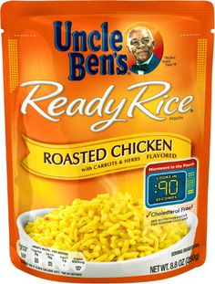 97a5054a5a125 Uncle Ben s Ready Rice Pouch Roasted Chicken Flavored Rice