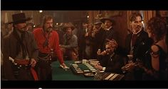 Tombstone - Johnny Ringo and Doc Holliday meet