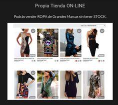 Tu puedes vender ropa de primeras marcas a precios increibles informate http://1fashionglobal.esy.es/