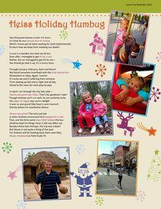 Priceless Heritage: Family Newsletter Templates   Christmas ...