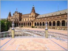 Siviglia - Piazza di Spagna.