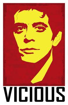 Lou Reed (Velvet Underground) - Vicious Poster / Print 11x17