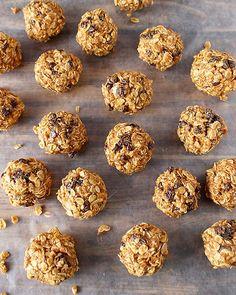 Oatmeal and Raisin Balls