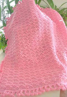 Ravelry: Bunny-Ear Blankie pattern by Kathy North