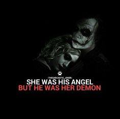Quotes for Motivation and Inspiration QUOTATION – Image : As the quote says – Description Mad love until Joker felt like he didn't want it. He pushed her away like a rag doll… - Joker Love Quotes, Joker Qoutes, Dark Love Quotes, Badass Quotes, Harley And Joker Love, Der Joker, Joker Und Harley Quinn, Joker Art, Harly Quinn Quotes