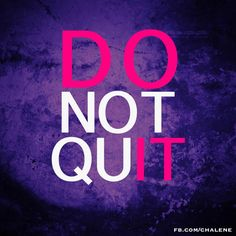 """Stop giving yourself an out! No more excuses. If you want it you have to get after it! PERIOD!"" ~Chalene Johnson"