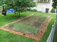 Mulch Garden Edge.