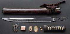 Antique-Japanese-Samurai-Sword-WAKIZASHI-Mumei-Koshirae-_1.jpg (400×198)
