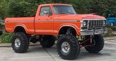 Custom Ford Trucks, Ford F150 Custom, Big Ford Trucks, Ford Truck Models, 1979 Ford Truck, Classic Pickup Trucks, Car Ford, Lifted Trucks, 1979 Ford F150