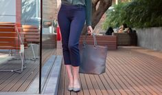 Crop   Navy Dress Pant Yoga Pants   Women's Dress Pants   Betabrand