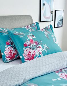 Blue Striped Sofa Uk Small Slipcovered Sectional 261 Best Joules Homeware Images In 2019 Couch Aqua Floral Aqflor Printed Duvet Cover