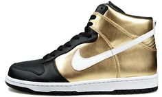 promo code 0fd3e d208b black with gold metal high heels  Nike+Dunk+High+Premium+shoes