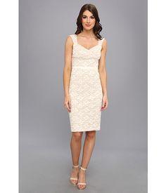 ABS Allen Schwartz Lace Sheath Dress