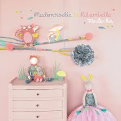 Mademoiselle et Ribambelle - nouvelle collection Moulin Roty