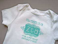 So many sisters are pregnant or new moms, what a great unisex gift!