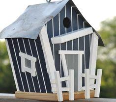 Yankees theme birdhouse, $60.0