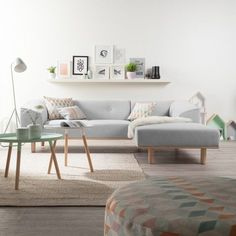 Ecksofa skandinavisches design  Mell Lounge Sofa: COR | Home Inspiration | Pinterest | Lounge sofa ...