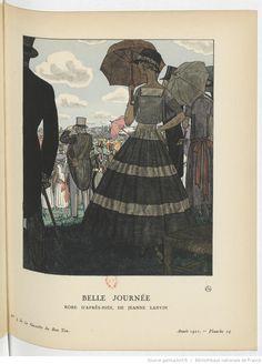 Belle journée, La Gazette du bon ton / directeur Lucien Vogel, mars 1921