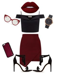 """""""Untitled #22"""" by peleg-maayan on Polyvore featuring Lipsy, Alexandre Birman, Lime Crime, Marc Jacobs and Miu Miu"""