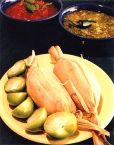 Chicken Verde Tamales - I love Tamales but I have never tried making them.  Always a first for everything.  Advice is very welcomed!!!