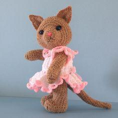 Crochet Pattern PDF  Crocheted Amigurumi Toy by BluebearyTreasures, $7.50