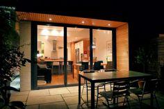 single storey extension overhanging roof - Google Search