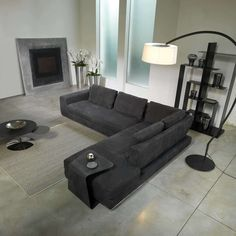 Summer A Modern Luxury Sofa by Cierre Imbottiti. Designed by Stefano Conficconi. Modern Furniture Stores, Modern Bedroom Furniture, Contemporary Furniture, Modern Contemporary, Luxury Sofa, Modern Luxury, Sofas, Couch, Design