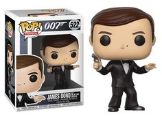 The icons of the 007 film series are on mission to join your Funko collection. From the film The Spy Who Loved Me, this James Bond Roger Moore Pop! Roger Moore James Bond, New James Bond, Pop Vinyl Figures, Funko Pop Figures, Harry Potter, Paw Patrol, Jurassic Park, Jumanji, Pop Art