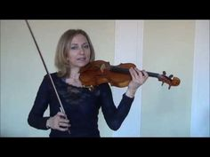 Online Violin - One Octave D Major Scale