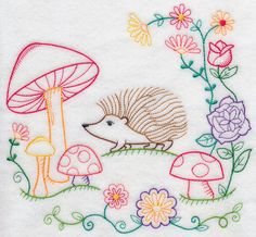 Machine Embroidery Designs at Embroidery Library! - Color Change - H6852