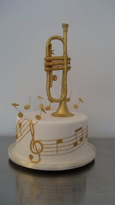 Trumpet cake, chiedete a Buddy se ve ne prepara una. Altrimenti chiedete al bona!