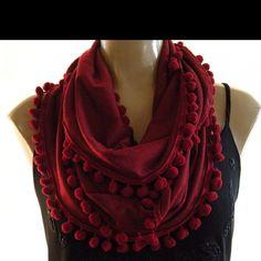 "Pretty ""necklace"" scarf - etsy.com"