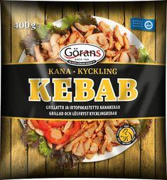 Kanasandwich resepti - Valmista helposti kotona | Ab Korv-Görans Kebab Oy Chili, Abs, Meat, Chicken, Food, Crunches, Chile, Essen, Abdominal Muscles