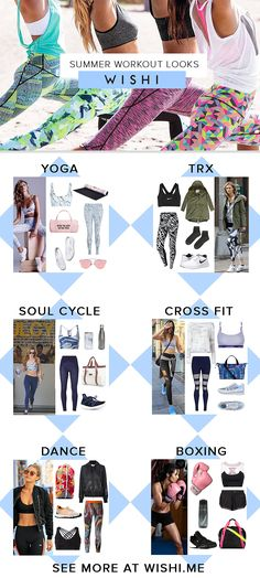 These looks will motivate you to hit the gym. See more gym looks on wishi.