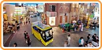 KidZania Koshien in Osaka, Japan, is built at two-thirds real size, enabling children to experience how adults see the world.