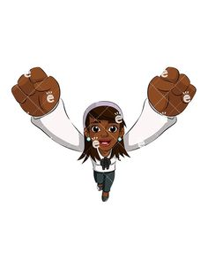 A Black Businesswoman Encouraging You With A Victory Cheer:  #accomplish #accomplishment #accountant #accounting #achievement #adorable #affiliate #african #african-american #american #attractive #author #awesome #banker #black #boss #business #businessowner #businesswoman #capitalist #career #cartoon #CEO #character #cheer #cheering #clipart #coach #coaching #confident #copywriter #corporate...