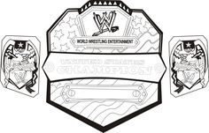 wwe coloring pages - Free Large Images