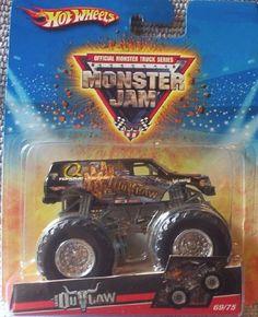 2009 Hot Wheels Monster Jam #69/75 IRON OUTLAW 1:64 Scale Collectible Truck, http://www.amazon.com/dp/B00266UKBU/ref=cm_sw_r_pi_awdm_oWLqtb1RCH5ZM