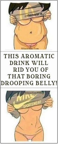 THIS AROMATIC DRINK WILL RID YOU OF THAT BORING DROOPING BELLY! #health #fitness #diy #drink #smoothie #beauty