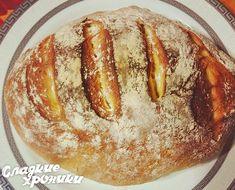 Хлеб из кукурузной и пшеничной муки в духовке — мой первый домашний хлеб