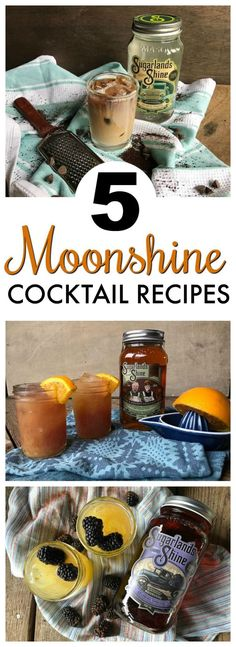 Looking for some tasty cocktail recipes to make with your moonshine? These cocktail recipes are quite delicious! Moonshine Drink Recipes, Moonshine Recipes Homemade, Cocktail Recipes Homemade, Moonshine Cocktails, Coctails Recipes, Whiskey Cocktails, Easy Cocktails, Drinks Alcohol Recipes, Wine Recipes