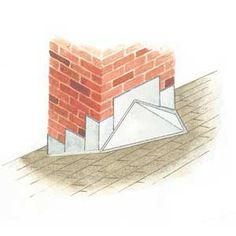 Don't forget to remove all of the old flashing, chimneys and tar from your chimney before installing your new flashing.