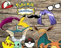 Photo Both props pokemon