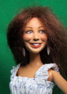 Wildflower Dolls Tara 23 OOAK Doll Only by WildflowerDolls on Etsy, $69.95