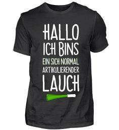 Hallo ich bins ein Lauch T-Shirt Basic Shirts, Mens Tops, Women, Fashion, Moda, Fashion Styles, Fashion Illustrations, Woman