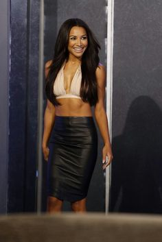 I love Naya Rivera. So gorgeous, her eyes so full of mischief, she carries herself just beautifully.