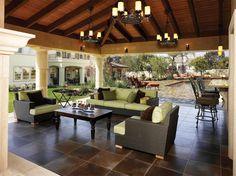Vincennes Court Residence - Mediterráneo - Patio - Otras zonas - de HartmanBaldwin Design/Build