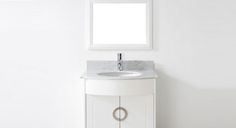 Now that condominiums and really small houses are commonplace, expect bathrooms to follow this trend.  However, a small bathroom will still be of interest if a custom-built vanity is in place.