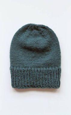 Neulottu pipo myssy neulepipo 7 veljestä puikot 4,5 ja 6 Crochet Chart, Knit Crochet, Crochet Patterns, Knitting Yarn, Knitting Ideas, Caps Hats, Handicraft, Knitted Hats, Diy And Crafts
