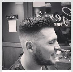 A perfect high and tight undercut
